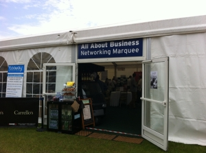 All About Business marquee
